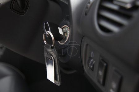 Car Ignition With Key