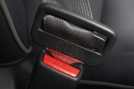 Fastened seat belt
