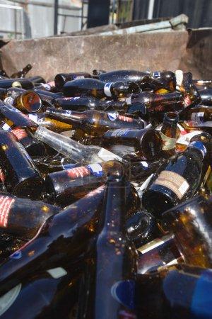 Thrashed Glass Bottles