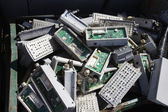 Electronic Components In Bin