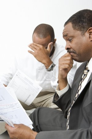 Accountant Giving Client Bad News