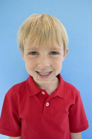 Happy Caucasian Boy