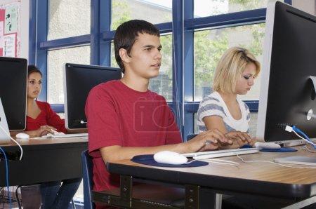 Modern High School Class