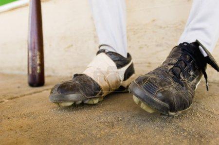 Baseball Player Feet