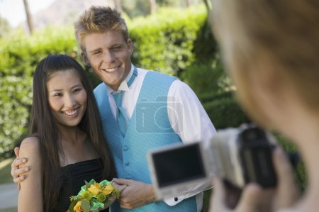 Couple Being Videotaped