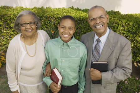 Christian Grandparents and Grandson