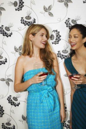 women Drinking Martini