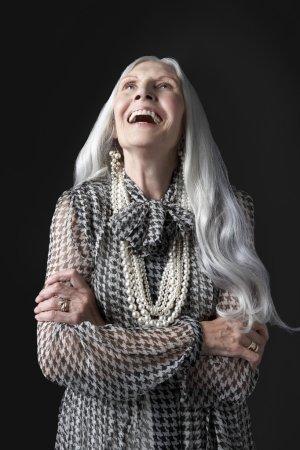 laughing Senior Woman