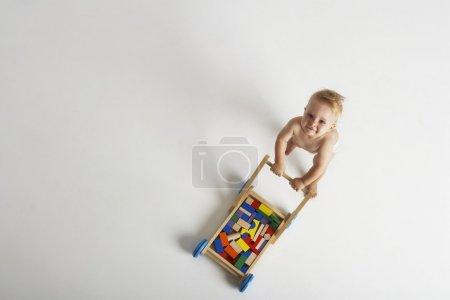 Baby Pushing Toy Cart