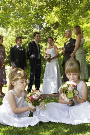 Flower Girl and Wedding Party