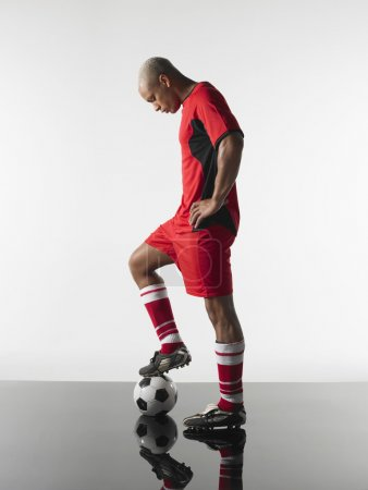 Soccer Player Soccer Player with a ball
