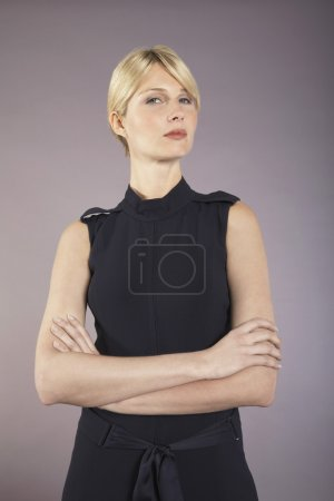 Photo for Businesswoman with arms crossed portrait - Royalty Free Image