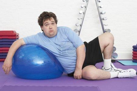 Man Doing Gymnastics
