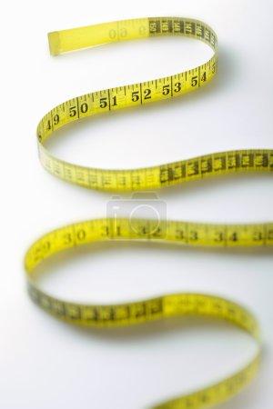Winding strip of measuring tape