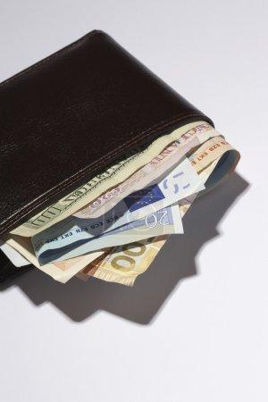 Wallet full of currencies