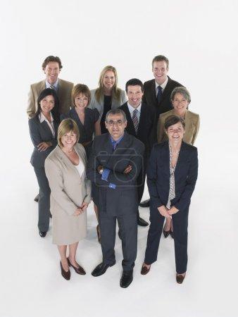 Photo pour Groupe de gens d'affaires - image libre de droit