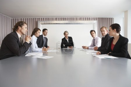 Businesspeople in Conference Room