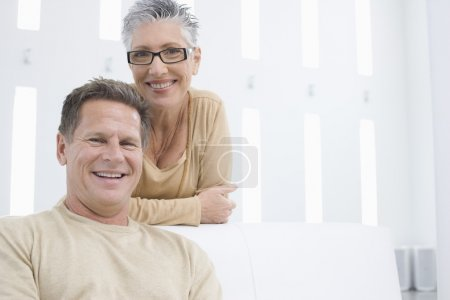 Photo for Portrait of middle-aged couple - Royalty Free Image