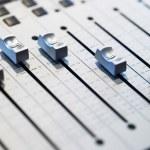 Mixing board close-up...