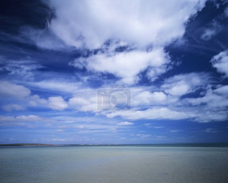 Photo for Clouds over ocean - Royalty Free Image