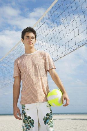 Teenage boy  standing