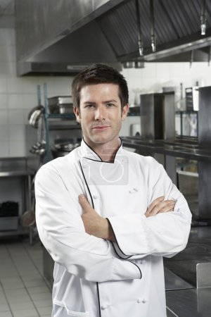Chef with arms crossed  standing