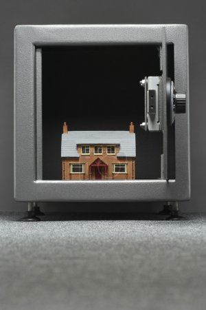 Model house in safe