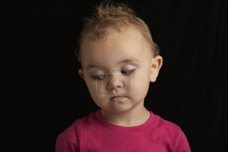 Baby girl face