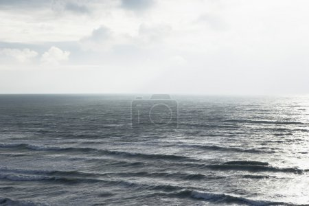 Photo for Sea landscape, elevated view - Royalty Free Image