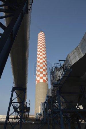 Oil fired power station