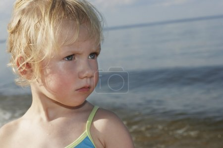 Girl looking away