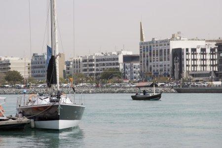 Waterfront along Dubai
