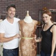 Постер, плакат: Fashion designers working together