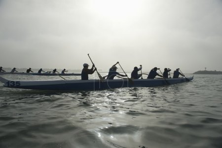 Canoeing teams