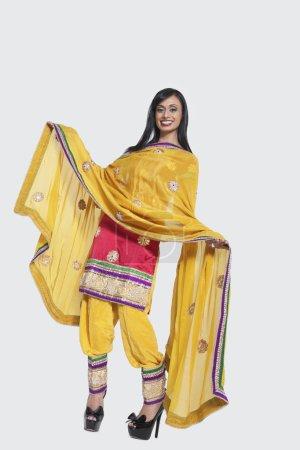 Indian woman in salwar kameez