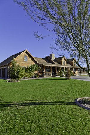 Ranch home exterior