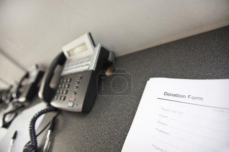 Landline telephones and document
