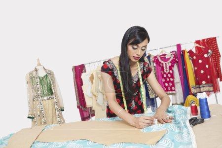 Indian female clothing designer