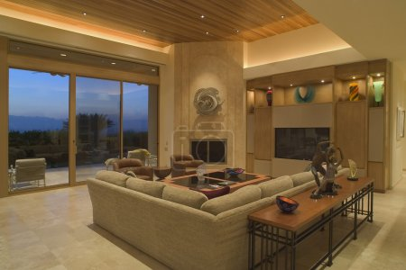 Foto de Salón interior - Imagen libre de derechos