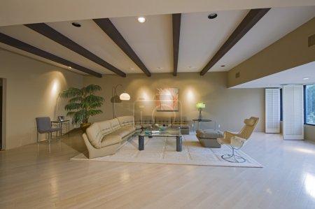Foto de Moderna sala interior - Imagen libre de derechos