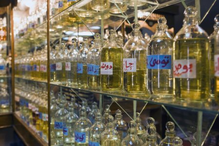 Perfume manufacture in Egypt
