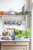Kelímky a vaničky na prádelníku