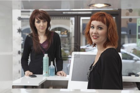 Product sales in hairdressing salon