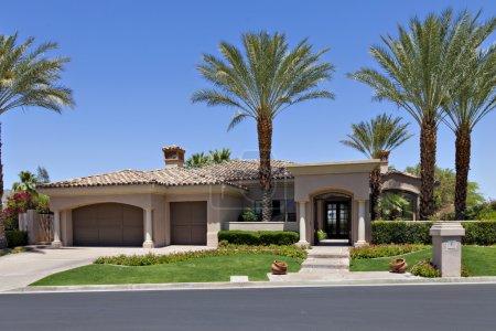 Beautiful Californian home exterior
