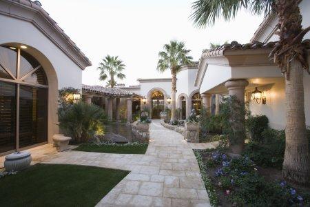 Luxury houses exterior