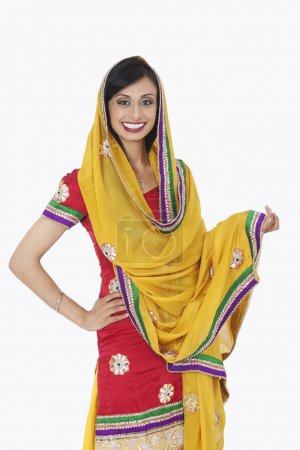 Indian female in traditional wear