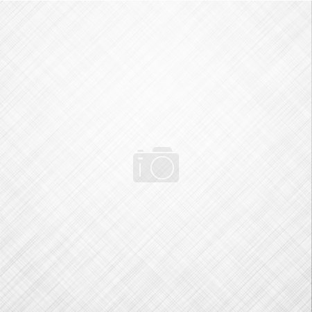 Illustration for Realistic white linen texture pattern. Vector eps10. - Royalty Free Image
