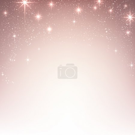 Christmas starry background with sparkles.