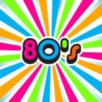 80s pop art background...