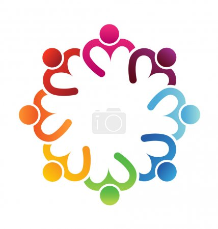 Logo Business icon design. Heart sharing 8